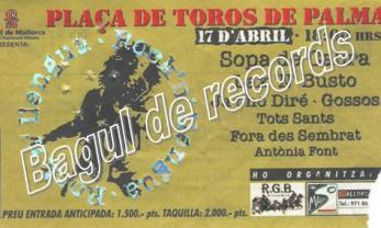 ELS MEUS RECORDS PERSONALS DE SOPA DE CABRA